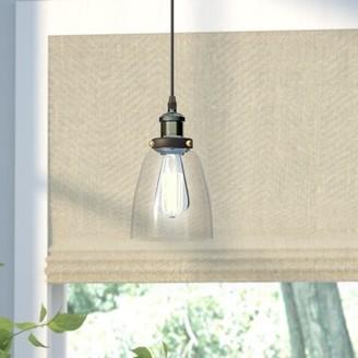 Laurel Foundry Modern Farmhouse Bouvet 1-Light Single Bell Pendant