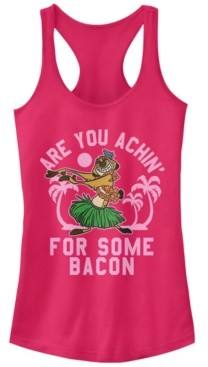 Fifth Sun Disney Juniors' Lion King Achin' For Bacon Ideal Racerback Tank Top