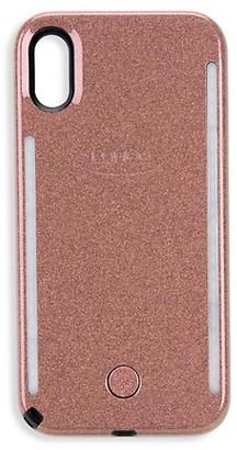 LuMee Metallic Marble Duo iPhone XS Max Case