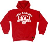 Sex Weights and Protein Shakes Premium SWPS Premium - Just Another Gym Motivation Top (S - ) HOODIE
