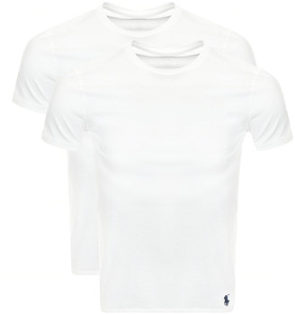Ralph Lauren 2 Pack Crew Neck T Shirts White