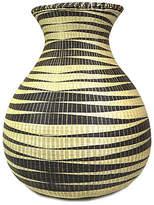 "All Across Africa 21"" Huye Floor Basket - Black/Natural"