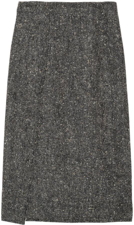 Altuzarra Twig wool-tweed skirt