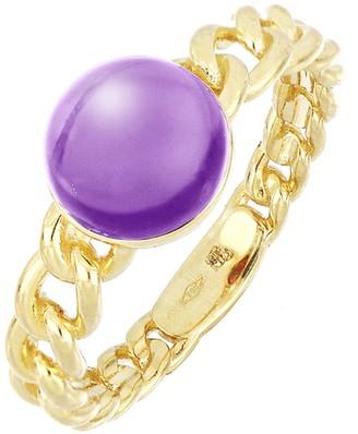 Bony Levy 18K Yellow Gold Amethyst Link Ring