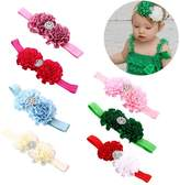 Itaar® Itaar Baby Hairband Girl's Elastic Mix Color Hair Wrap Cute Headwear