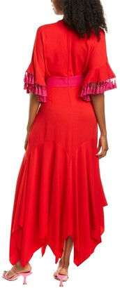 Sachin + Babi Malewane Silk-Blend Gown