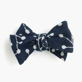 J.Crew KirikoTM bow tie in bud print