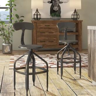 Trent Austin Designâ® Flanagan Adjustable Height Swivel Bar Stool Trent Austin DesignA