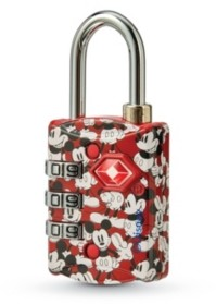 American Tourister Disney Tsa 3 Dial Combo Lock