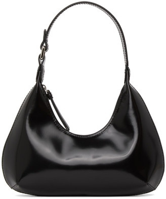BY FAR Black Baby Amber Bag
