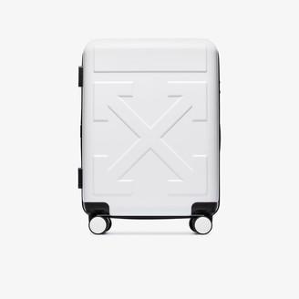 Off-White White Arrow Trolley Suitcase