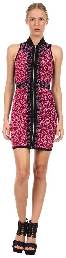 McQ Camo Dress (Shocking Pink/Black) - Apparel