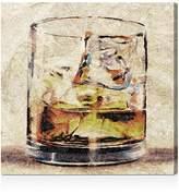 "Oliver Gal Scotch Glass Wall Art, 10"" x 10"""