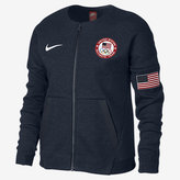 Nike Tech Fleece Team USA Big Kids' (Girls') Jacket
