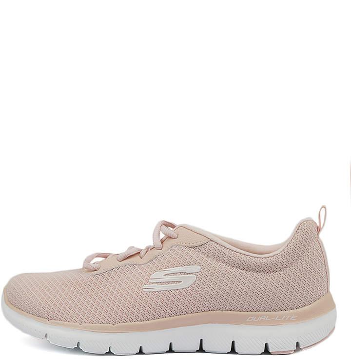 Skechers 12775 flex appeal 2-n Light pink Sneakers Womens Shoes Comfort Active Sneakers