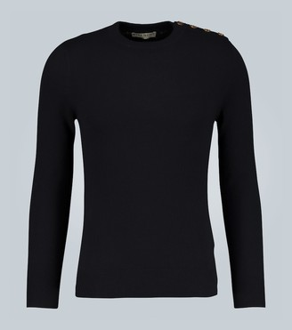 Givenchy Cashmere sweater with 4G buttons