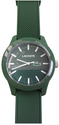 Lacoste Green Steel Watches