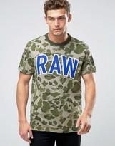 G Star G-Star Warth Raw Camo Print T-Shirt