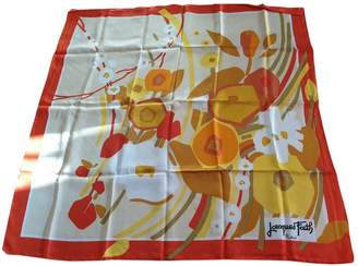 Jacques Fath Multicolour Silk Silk handkerchief