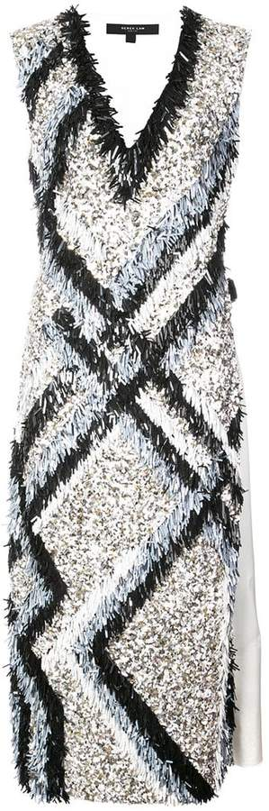 Derek Lam Embroidered Shift Dress