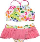 Floatimini Flower Garden Crop Bikini Set