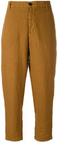 Barena cropped trousers - women - Linen/Flax - 42