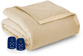 Shavel Chino Micro Flannel Full Electric Blanket