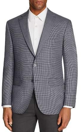 Jack Victor Micro Houndstooth Regular Fit Sport Coat