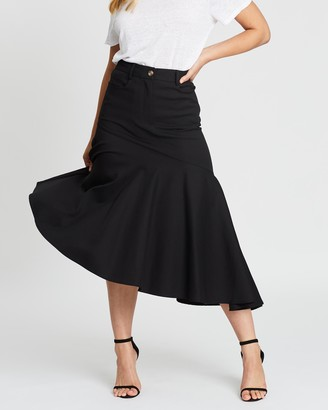Atmos & Here Gallica Asymmetric Skirt