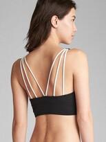 Gap GapFit Triangle Bralette Bikini Top