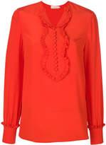 Tory Burch ruffle detail blouse