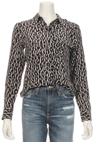 Equipment Slim Signature Leopard Shirt