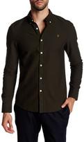 Farah Brewer Long Sleeve Slim Fit Shirt