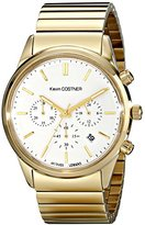 Jacques Lemans Unisex KC-103E Kevin Costner Collection Analog Display Quartz Gold Watch