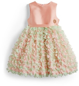Elie Saab Floral Ruffle Dress (4-14 Years)