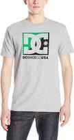 DC Men's Crosscloud Short Sleeve T-Shirt, Heather Grey
