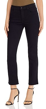 Mother The Dazzler Ankle Straight-Leg Jeans in Not Guilty