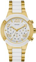 GUESS White Showstopping Sport Watch