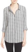 Soft Joie Eirene Plaid Roll Sleeve Shirt