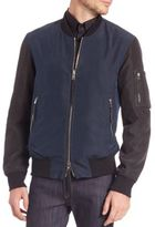 Ovadia & Sons Two-Tone Bomber Jacket