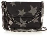 Stella McCartney Falabella star-print denim pouch