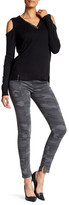 Democracy Camo Pull On Topstitched Jegging