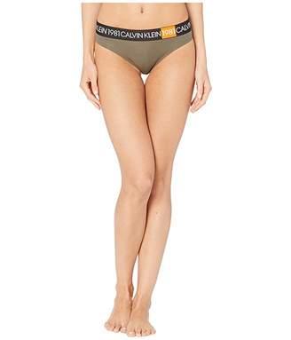 Calvin Klein Underwear 1981 Bold Thong