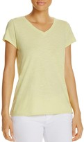 Eileen Fisher V-Neck Short Sleeve Tee