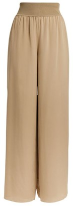Theory Silk Wide Trousers