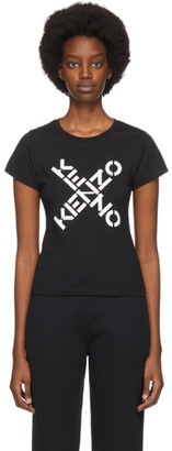 Kenzo Black Slim Sport Big X T-Shirt