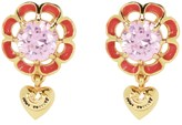 Juicy Couture Iconic Flowers Drop Earrings