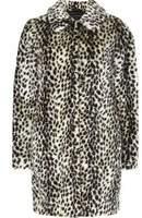 Dorothy Perkins Womens Multi Coloured Leopard Print Faux Fur Dolly Coat