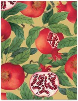 Caspari Pomegranate Holiday Cards, Box of 16