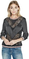 GUESS Neveah Lace Mix Pullover